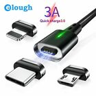 Magnetic Charger Cable/Cord for 3.0 4.0 Micro USB, iPhone, Type-C Fast Charging