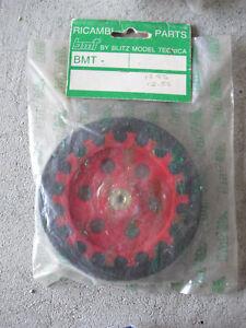 "R/C Car Part Ricambi BMT Blitz Model Red Wheel Tire 4"" Wide NIP"