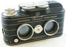 Vintage Viewmaster Personal 35mm Stereo Camera w/Case & Filters