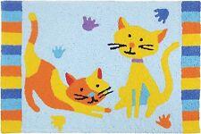 Door Mat Jellybean Rug Let's Play Washable Durable Indoor Outdoor New Cat Kitten