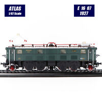 Atlas Collections 1:87 Train locomotive model E 16 07(1927) Collection Gift Rare