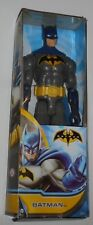 """Mattel Batman 9 Points Of Articulation 12"""" Action Highly Posable Figure Blue Toy"""