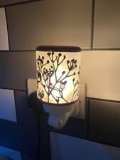 Scentsy morning sunrise mini warmer plug In With Samples