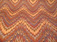 Vintage S.M. Hexter Fabric Chevron Flamestitch Style Mid Century Modern 2Y