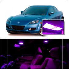 For Mazda RX8 2004-2014 Pink LED Interior Kit + Pink License Light LED