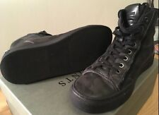 All Saints *CIRCUIT* Hi Top CAMO Leather Trainers Boots, UK 8/EU 42, Worn Once