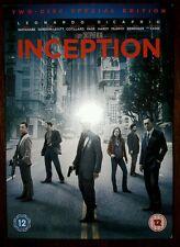 Inception DVD /  2-Disc / Leonardo Di Caprio / Tom Hardy / Michael Caine / Nolan