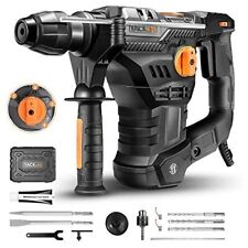 "TACKLIFE TRH01A-1500 1-1/4"" SDS-Plus Rotary Hammer Drill"