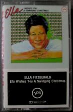 Ella Fitzgerald: Ella Wishes You a Swinging Christmas (Cassette,1982, Verve) NEW