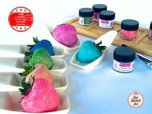 EDIBLE GLITTER DUST Pick your color (6 gr) Magic Dust Kosher, Vegan, Gluten-free