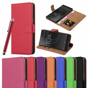 For Sony Xperia L1 Case Experia Wallet Leather Cover Flip Book Pouch Card Stand
