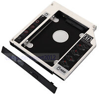 2nd HD Hard Drive HDD SSD SATA Caddy Adapter for Sony Vaio VPCEH 23FD PCG-7181W