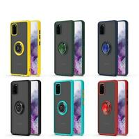 Impact Ring Holder Magnetic Military Grade Case Cover For Samsung Galaxy A21S
