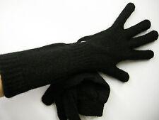Guanti donna gloves woman ENRICO COVERI guanto medio t.unica c.nero black Italy