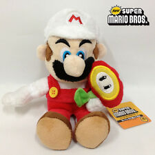 New Super Mario Bros. Plush Fire Mario Soft Toy Stuffed Animal Cuddly Teddy 7""