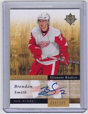 DETROIT RED WINGS 2011-12 ULTIMATE COLLECTION BRENDAN SMITH AUTOGRAPHED RC #'D