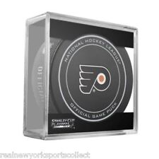 2014 PHILADELPHIA FLYERS STANLEY CUP PLAYOFFS OFFICIAL GAME PUCK