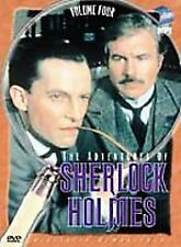 The Adventures of Sherlock Holmes - Vol. 4 (DVD, 2002) Jeremy Brett