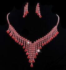 Bridal/wedding crystal/diamonte Collar Set * 146 *