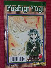 FUSHIGI YUGI- N° 21 -ESAURITO-.DI:YU WATASE- MANGA-PANINI COMICS