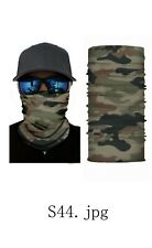 Face Mask Bandana Neck Gaiter Head Band Multi-Use Tube Scarf Hunting Camouflage