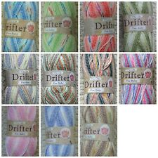Knitting Wool 100g Baby Drifter DK Knitting Baby Wool Yarn King Cole