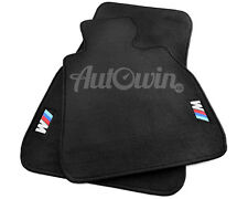 BMW Z4 Series E86 Black Floor Mats with M Logo with Clips RHD UK NEW
