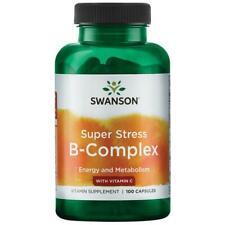 Swanson Premium Super Stress B-Complex with Vitamin C 100 Capsules