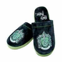 Harry Potter Hogwarts Slytherin House Crest Adult Mule Slippers - 2 Sizes