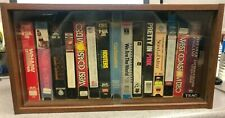 VHS Tape Holder and Collection