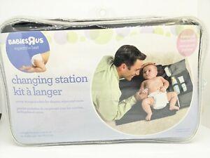 "BabiesRus Portable Changing Station 31"" x 23.75"" Foldable w/ Storage Pockets"