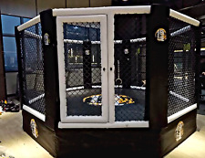 15'x15' Commercial Boxing Ring MMA Cage UFC Octagon Pro Wrestling Mat 196 sq ft