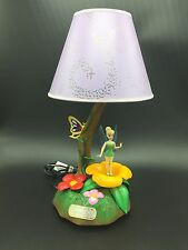 Disney Tinker Bell Tinkerbell Musical Lamp Mechanical Fairy Movement 2004 Nice!