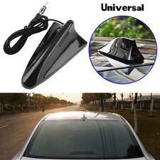Universal Car SUV Black Roof Radio AM/FM Signal Booster Shark Fin Aerial Antenna