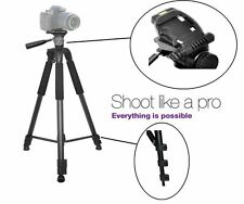 "75"" Heavy Duty Professional Tripod with Case for Sony HDR-SR12"