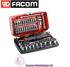 "FACOM 1/4"" DR COMPACT SOCKET & SCREWDRIVER BIT SET, METRIC - R2NANO"
