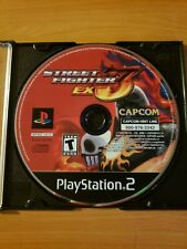 Street Fighter EX3 (Sony PlayStation 2, 2000) ~ Disc Only, WORKS GREAT!
