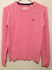 JACK WILLS TINSBURY CABLE CREW~PINK~US 6/UK 10 ~ RETAIL $84.50