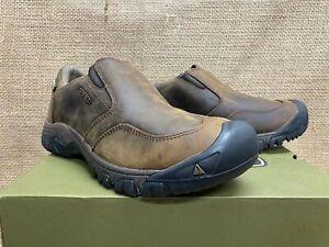NIB Keen 1019933 Men's Brixen II WP Dark Earth Casual Pull On Shoe