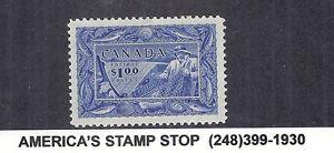 1957 Canada - SC 302 Fisherman / Fishing Resources - Choice XF+ Gem MNH