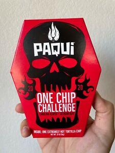 Paqui Carolina Reaper Pepper One Chip Challenge NEW 2020 Sichuan Tortilla