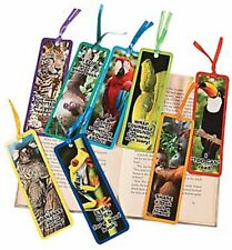 Pack of 12 - Laminated Rainforest Bookmarks - Party Loot Bag Fillers
