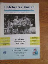 Colchester Utd v Redbridge Forest - Vauxhall Conference - 1991/92