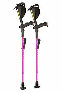 Ergobaum 7G Ergonomic Crutches- Brand New Choose Your Color