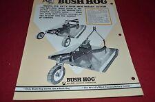 Bush Hog 104 Rotary Cutter Dealer's Brochure YABE10