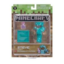Minecraft Series 4 Core Figure & Accessories Steve With Invisibility Potion MISB