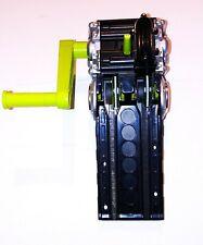 Hot Wheels Car Launcher Crank Handle  Mattel #89854 green & Black Race Cars
