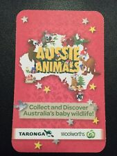 Woolworths Aussie Animal Card No.1