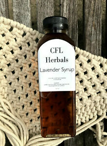 Lavender Syrup - Organic Lavender Simple Syrup - Cocktail Mixers - Coffee Syrup