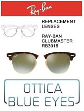 Lenti di Ricambio RAYBAN CLUBMASTER RB3016 Replacement Lenses RAY BAN FLASH 9J